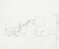 Animation Art:Production Drawing, Pluto's Elephant Pluto and Bobo Unused Production DrawingAnimation Art (Walt Disney. c. 1950s)....