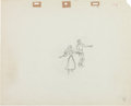 Animation Art:Production Drawing, Sleeping Beauty Briar Rose and Prince Phillip ProductionDrawing Animation Art (Walt Disney, 1959)....