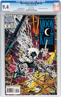 Marc Spector: Moon Knight #55 (Marvel, 1993) CGC NM 9.4 White pages