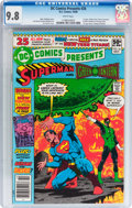 Modern Age (1980-Present):Superhero, DC Comics Presents #26 Superman and Green Lantern (DC, 1980) CGCNM/MT 9.8 White pages....