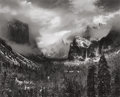 Photographs, ANSEL ADAMS (American, 1902-1984). Clearing Winter Storm, Yosemite National Park, California, 1944. Gelatin silver, 1974...