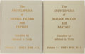 Books:Books about Books, Donald Tuck. The Encyclopedia of Science Fiction and Fantasy. Chicago: Advent, 1974 and 1978. First edition. Two qua... (Total: 2 Items)
