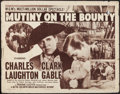 "Movie Posters:Academy Award Winners, Mutiny on the Bounty (MGM, R-1951). Half Sheet (22"" X 28"") Style A.Academy Award Winners.. ..."