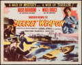 "Movie Posters:Crime, Sherlock Holmes and the Secret Weapon (Realart, R-1948). Half Sheet(22"" X 28""). Crime.. ..."