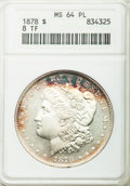 Morgan Dollars: , 1878 8TF $1 MS64 Prooflike ANACS. NGC Census: (99/9). PCGS Population (122/12). Numismedia Wsl. Price for problem free NGC...