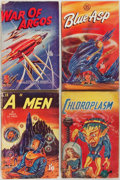 Books:Science & Technology, [Science Fiction and Fantasy]. Group of Four Science Fiction Novels. London: Curtis Warren, 1952. Three titles by Rand Le Pa... (Total: 4 Items)