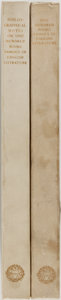 Books:Books about Books, [Books About Books]. George E. Woodberry, Introduction. One Hundred Books Famous in English Literature With Facsimiles o... (Total: 2 Items)