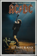 """Movie Posters:Documentary, AC/DC: Let There Be Rock (Warner Brothers, 1982). One Sheet (27"""" X 41""""). Music concert. Directed by Eric Dionysius. Starring..."""