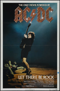 """AC/DC: Let There Be Rock (Warner Brothers, 1982). One Sheet (27"""" X 41""""). Music concert. Directed by Eric Diony..."""