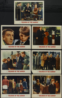 """Children of the Damned (MGM, 1963). Lobby Cards (7) (11"""" X 14""""). Science Fiction. Directed by Tony Leader. Sta..."""