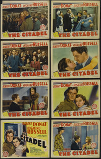 "The Citadel (MGM, 1938). Lobby Card Set of 8 (11"" X 14""). Medical drama. Directed by King Vidor. Starring Robe..."