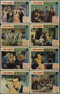 "Cocoanut Grove (Paramount, 1938). Lobby Card Set of 8 (11"" X 14""). Musical. Directed by Alfred Santell. Starri..."
