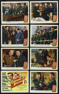 """Movie Posters:War, Command Decision (MGM, 1948). Lobby Card Set of 8 (11"""" X 14""""). War.Directed by Sam Wood. Starring Clark Gable, Walter Pidge... (Total:8 Items)"""