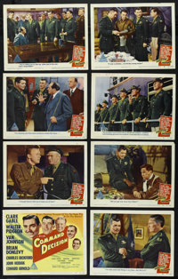 "Command Decision (MGM, 1948). Lobby Card Set of 8 (11"" X 14""). War. Directed by Sam Wood. Starring Clark Gable..."