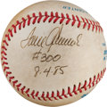 Baseball Collectibles:Balls, 1985 Tom Seaver Game Used Signed Baseball From 300th Win Game. ...