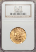 Indian Eagles: , 1926 $10 MS63 NGC. NGC Census: (14757/5002). PCGS Population(11090/3666). Mintage: 1,014,000. Numismedia Wsl. Price for pr...