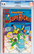 Bronze Age (1970-1979):Cartoon Character, Superichie #13 and 15 CGC-Graded File Copy Group (Harvey, 1978)White pages.... (Total: 2 Comic Books)