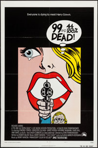 "99 and 44/100% Dead (20th Century Fox, 1974). One Sheet (27"" X 41"") & Lobby Card Set of 8 (11"" X 14&q..."