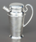Silver Holloware, American:Flasks, A HENRY BIRKS & SONS CANADIAN SILVER COCKTAIL SHAKER . HenryBirks & Sons, Montreal, Canada, circa 1910. Marks: (lionpassan...