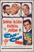 "Movie Posters:Musical, Can-Can (20th Century Fox, 1960). One Sheet (27"" X 41""). Musical....."