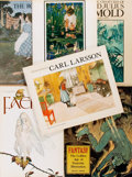 Books:Art & Architecture, [Carl Larsson, Jessie Wilcox Smith, et al].Group of Six Books on Illustration. Various publishers, primarily late twentieth ... (Total: 6 Items)