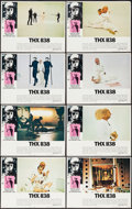 "Movie Posters:Science Fiction, THX 1138 (Warner Brothers, 1971). Lobby Card Set of 8 (11"" X 14"").Science Fiction.. ... (Total: 8 Items)"