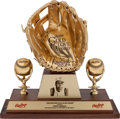 Baseball Collectibles:Others, 1958 Frank Robinson Gold Glove Award....