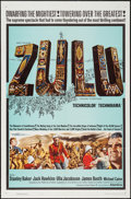 "Movie Posters:War, Zulu (Paramount, 1964). One Sheet (27"" X 41""). War.. ..."