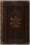 Books:Americana & American History, Abby Sage Richardson. The History of Our Country. Boston:H.O. Houghton, 1875. Full leather stamped in gilt and blin...