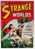 Golden Age (1938-1955):Science Fiction, Strange Worlds #1 (Avon, 1950) Condition: VG-....