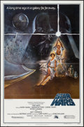 """Movie Posters:Science Fiction, Star Wars (20th Century Fox, 1977). One Sheet (27"""" X 41"""") Style A. Science Fiction.. ..."""