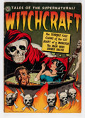 Golden Age (1938-1955):Horror, Witchcraft #4 (Avon, 1952) Condition: VG....