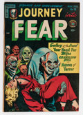 Golden Age (1938-1955):Horror, Journey Into Fear #10 (Superior, 1952) Condition: FN/VF....