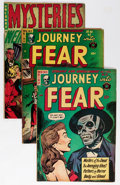 Golden Age (1938-1955):Horror, Journey Into Fear/Mysteries Group (Superior, 1953-54) Condition:Average VG.... (Total: 4 Comic Books)