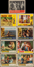 "Movie Posters:Bad Girl, Swamp Women & Others Lot (Woolner Brothers, 1956). Lobby Cards(9) (11"" X 14""). Bad Girl.. ... (Total: 9 Items)"