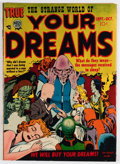 Golden Age (1938-1955):Horror, Strange World of Your Dreams #2 (Prize, 1952) Condition: FN+....