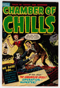 Golden Age (1938-1955):Horror, Chamber of Chills #5 (Harvey, 1952) Condition: VF-....