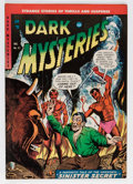 Golden Age (1938-1955):Horror, Dark Mysteries #21 (Master Publications, 1954) Condition: VF-....
