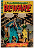 Golden Age (1938-1955):Horror, Beware #12 (Trojan/Prime, 1954) Condition: FN/VF....