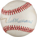 Baseball Collectibles:Balls, 1980's Ted Williams & Bill Terry Multi Signed Baseball...