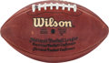 Football Collectibles:Balls, 2003 Green Bay Packers Game Used Football w/Team Letter. ...