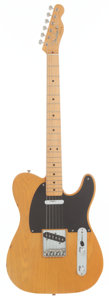 Musical Instruments:Electric Guitars, 1991 Fender '52 Re-Issue Telecaster Blonde Solid Body ElectricGuitar....