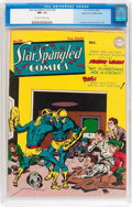 Golden Age (1938-1955):Superhero, Star Spangled Comics #39 Mile High pedigree (DC, 1944) CGC NM- 9.2 Off-white to white pages....