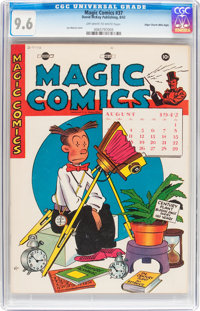 Magic Comics #37 Mile High pedigree (David McKay Publications, 1942) CGC NM+ 9.6 Off-white to white pages