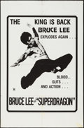 """Movie Posters:Action, Bruce Lee, Superdragon (R-1970s). One Sheet (27"""" X 41""""). Action....."""