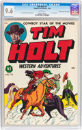 Golden Age (1938-1955):Western, Tim Holt #1 Mile High pedigree (Magazine Enterprises, 1948) CGC NM+9.6 White pages....