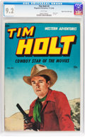 Golden Age (1938-1955):Western, Tim Holt #3 Mile High pedigree (Magazine Enterprises, 1948) CGC NM-9.2 White pages....
