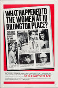 "Movie Posters:Crime, 10 Rillington Place (Columbia, 1971). One Sheet (27"" X 41""), Lobby Card Set of 8, & Lobby Card (11"" X 14""). Crime.. ... (Total: 10 Items)"