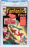 Silver Age (1956-1969):Superhero, Fantastic Four #31 Don/Maggie Thompson Collection pedigree (Marvel, 1964) CGC NM 9.4 White pages....