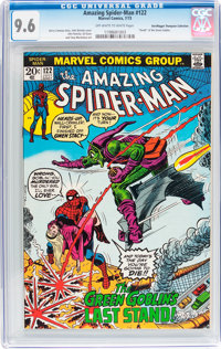 The Amazing Spider-Man #122 Don/Maggie Thompson Collection pedigree (Marvel, 1973) CGC NM+ 9.6 Off-white to white pages...